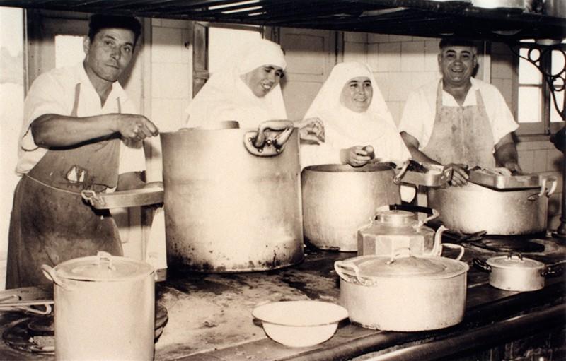 Cocinando en el Hospital Insular