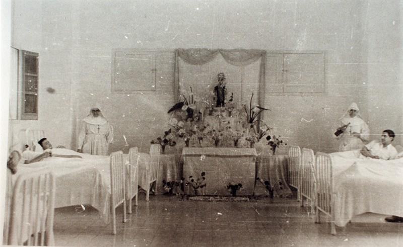 Altar en el Hospital Insular