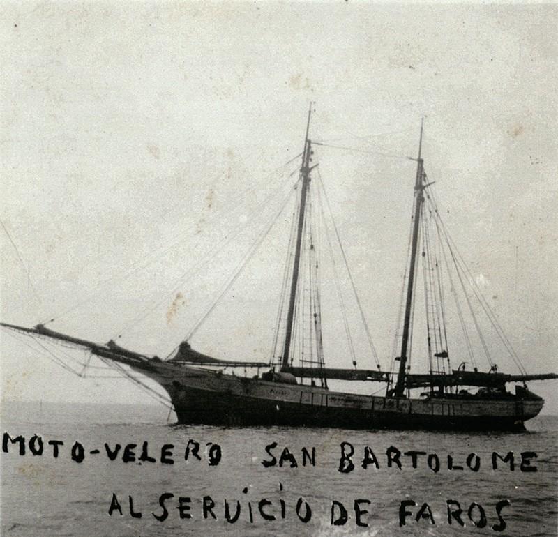 Moto-velero San Bartolomé