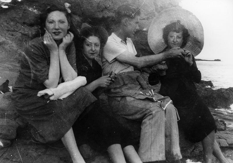 Jóvenes en el Barranco de la Calera I