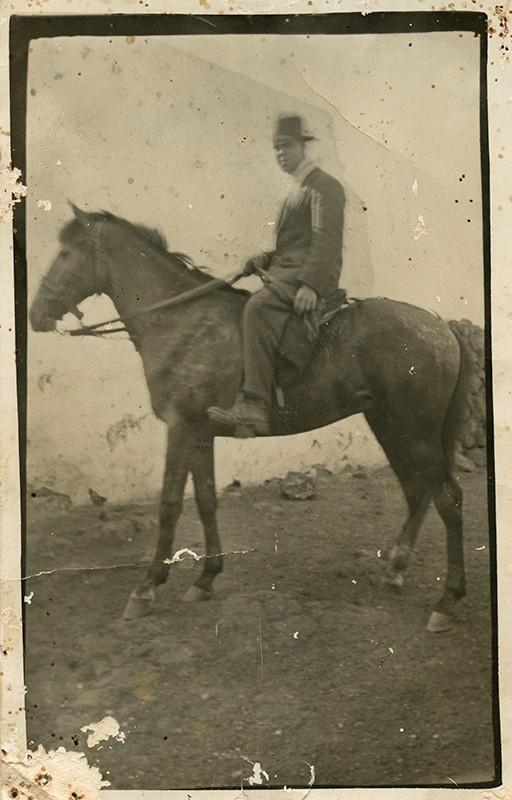 Retrato a caballo