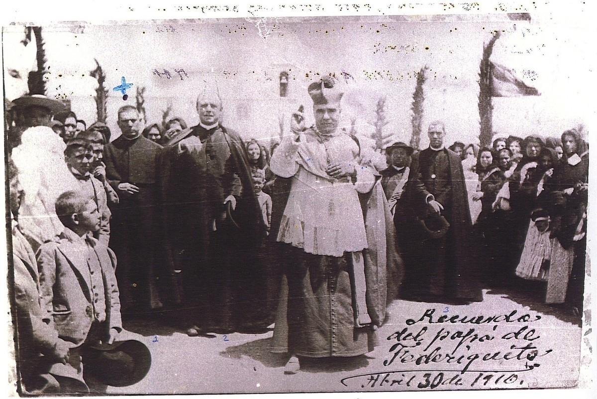 Visita del obispo Pérez Muñoz I