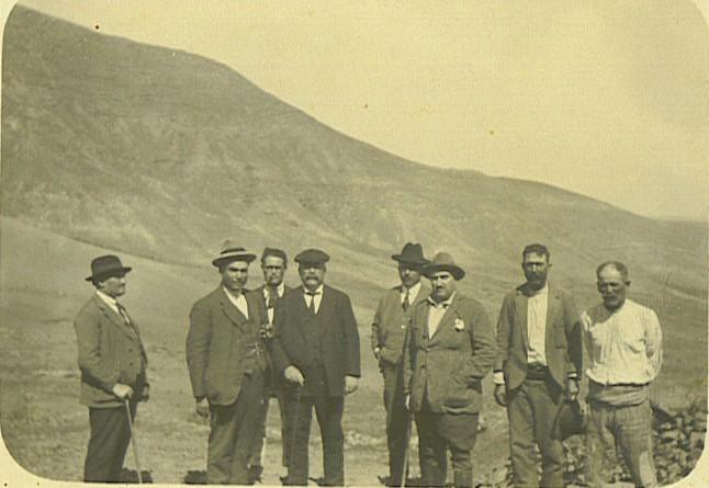 En el macizo de Famara. Vista desde Las Laderas