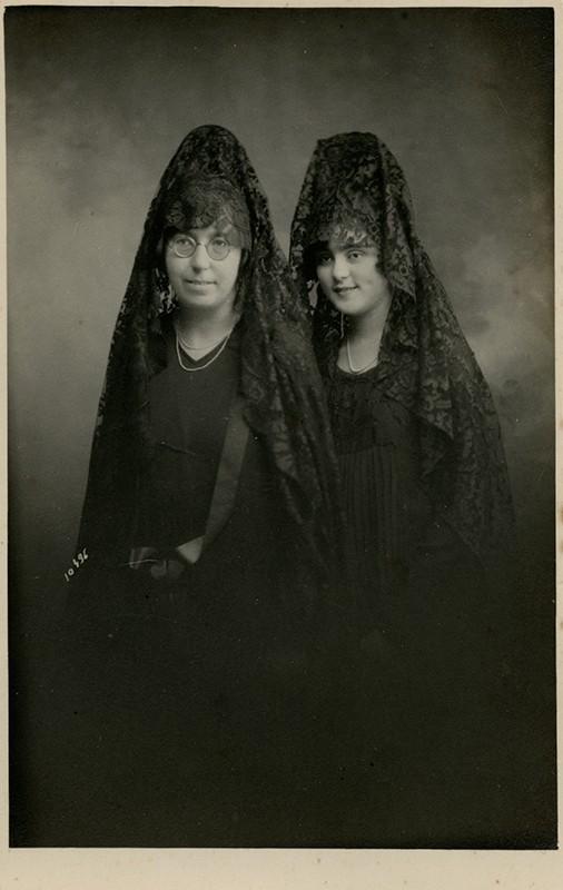 Mujeres de la familia Matallana-Cabrera