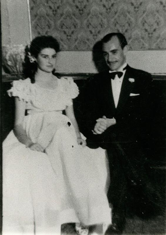 Lola Panasco y Paco Cabrera Matallana