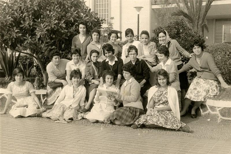 Alumnas en el parque I