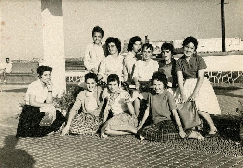 Alumnas en el Parque II