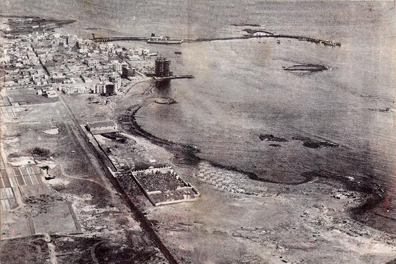 Fotografía aérea de Arrecife III