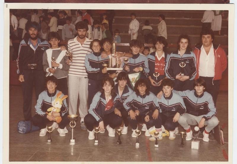 Equipo juvenil femenino del San José Obrero