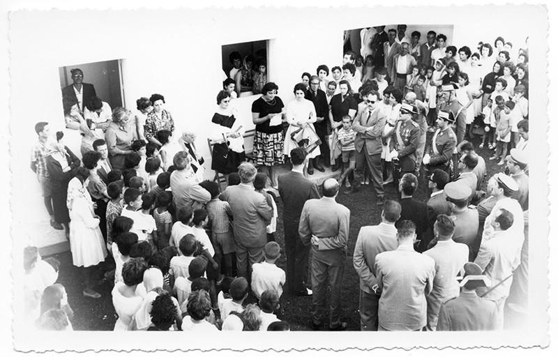 Inauguración del cuartel de la Guardia Civil en Haría