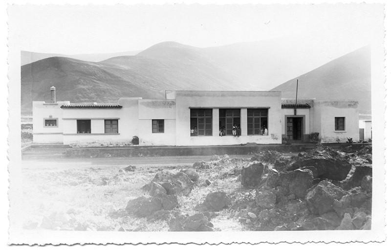 Escuela y vivienda de Órzola