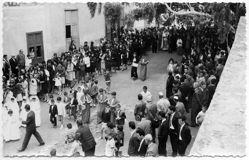 Procesión del Corpus en Haría