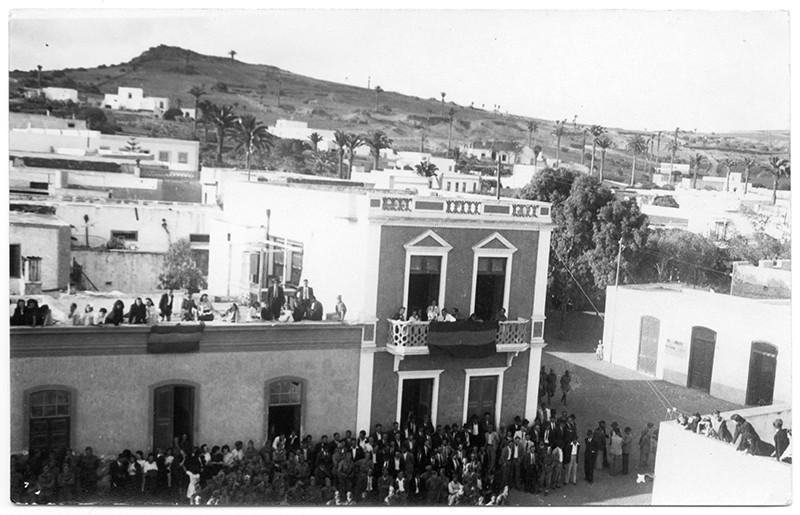 Recibimiento en Haría