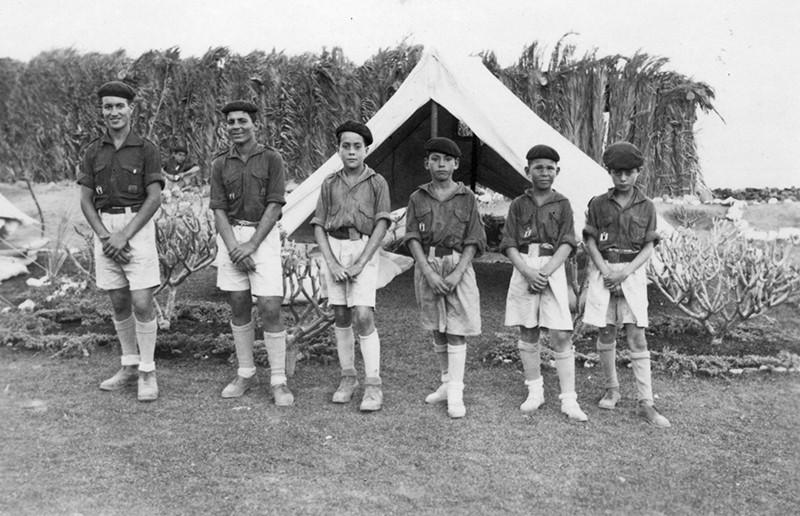 Campamento de la OJE en Arrieta I