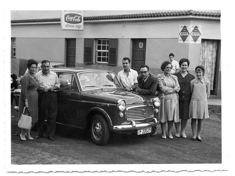 Familia Reyes Barreto en Tenerife I