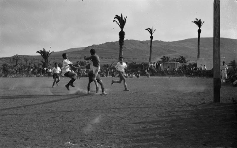 Fútbol en Haría I
