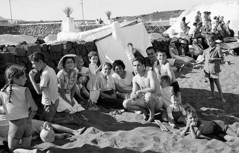 Familia en Playa Bastián II