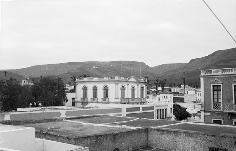 Vista centro de Haría