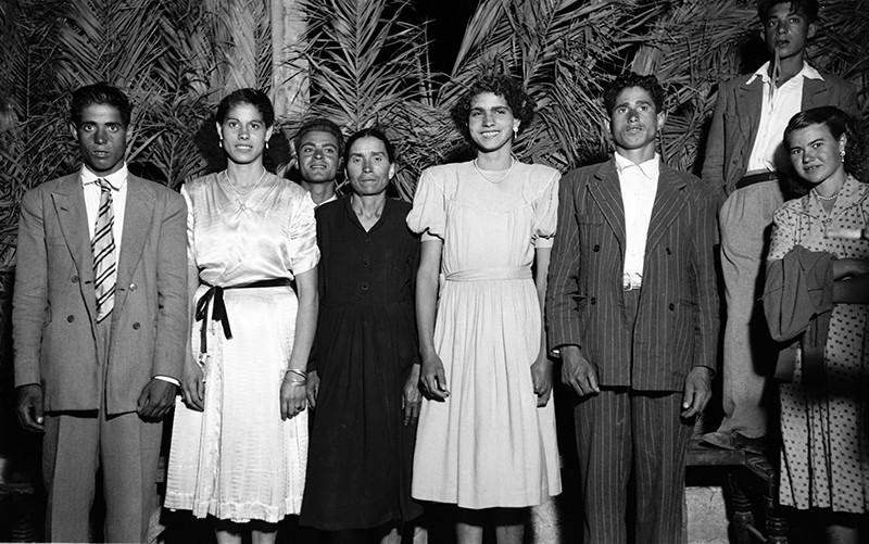 Familia en los bailes de Haría I