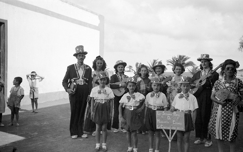 Carnaval de la familia de Andrés Betancor III