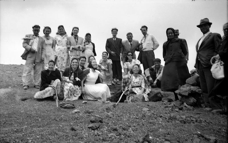 Excursión de gente de Haría y Máguez
