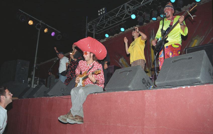 """""""Kardomillo"""" en el Festival """"Zurrón"""" 1998 I"""