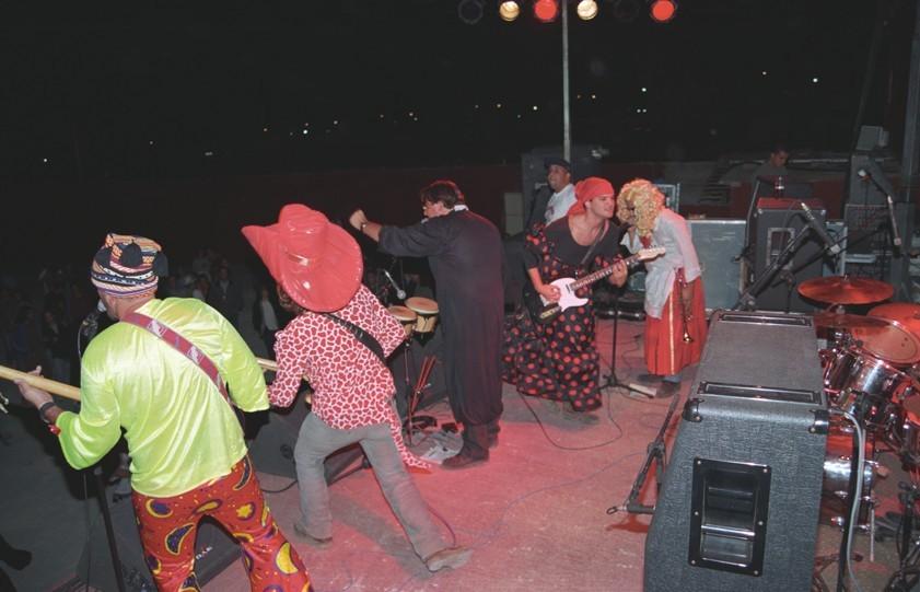"""""""Kardomillo"""" en el Festival """"Zurrón"""" 1998 II"""