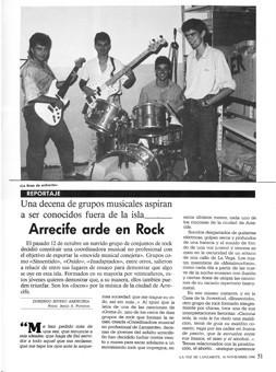 'Arrecife arde en rock'