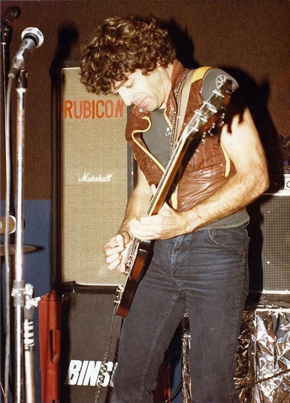 """Luis Lachambre, guitarrista de """"Rubicón"""" I"""