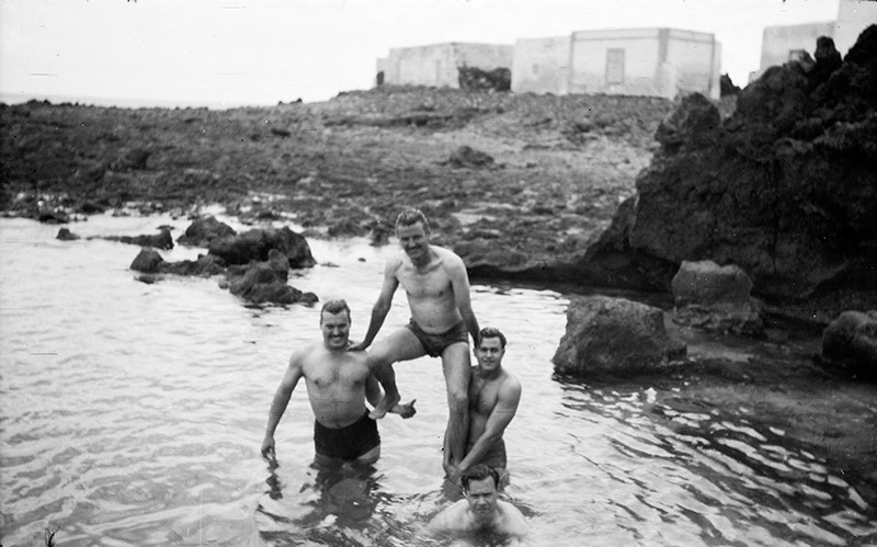 Baño en Punta Mujeres