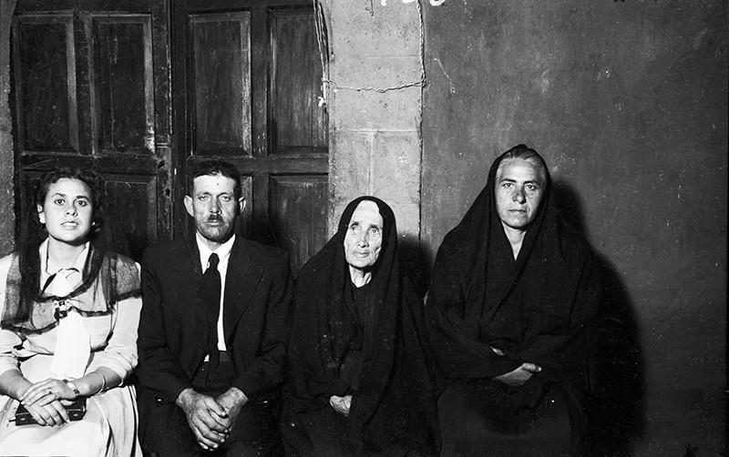 Familia del párroco Enrique Dorta Alfonso