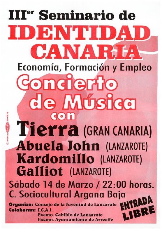 "Cartel concierto ""Kardomillo"" I"