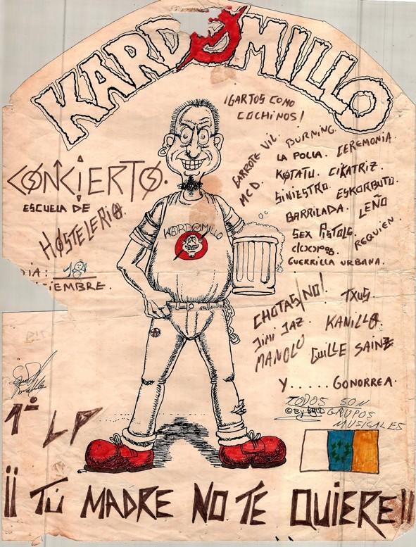 "Cartel concierto ""Kardomillo"" IV"