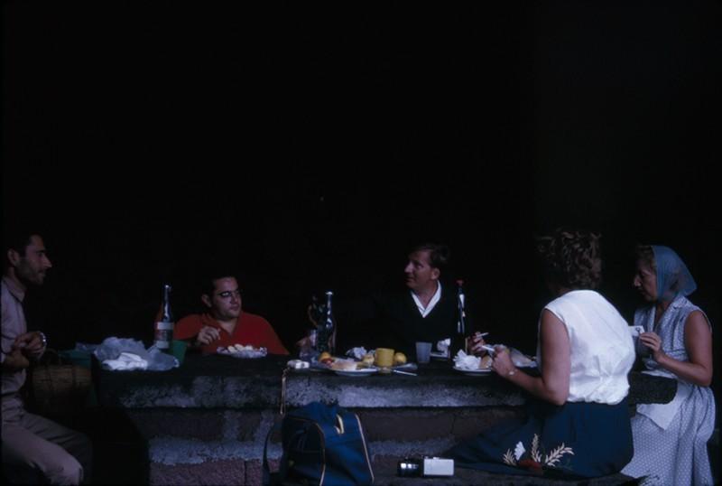 Reunión de amigos en El Golfo
