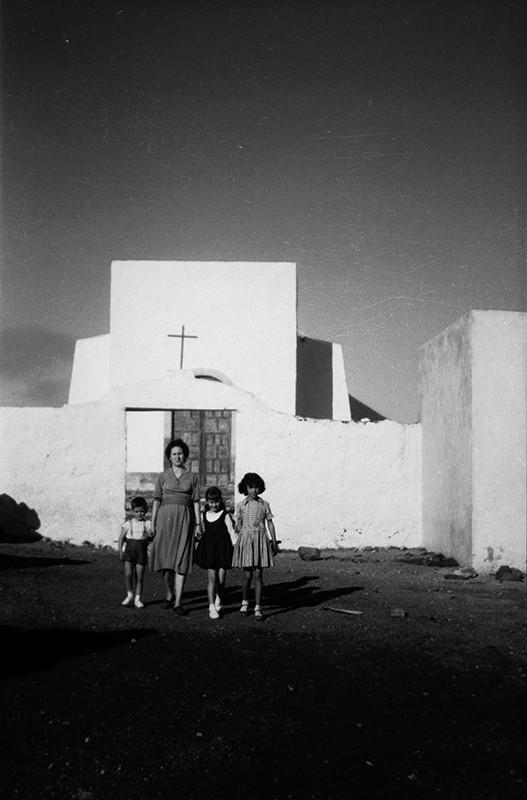 Familia en la ermita de Las Nieves I