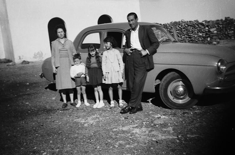 Familia en la ermita de Las Nieves VI