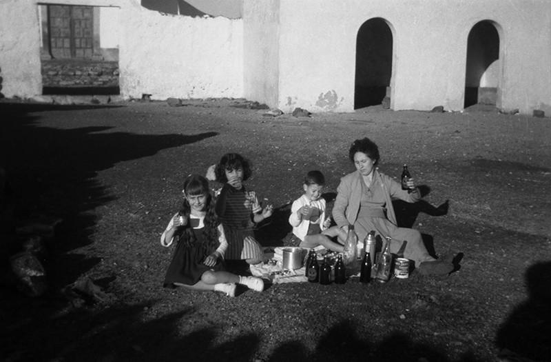 Familia en la ermita de Las Nieves VII