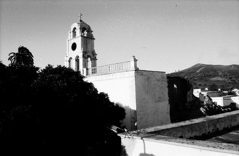 Derribo de la antigua iglesia de Haría II