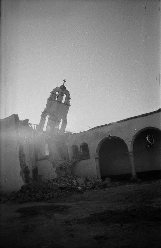 Derribo de la antigua iglesia de Haría III
