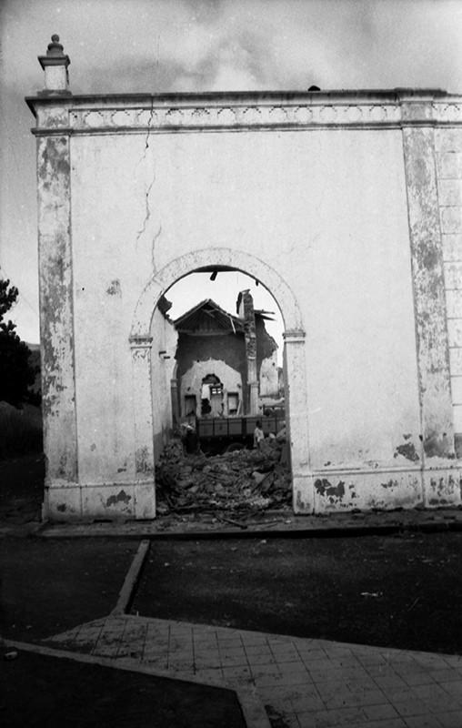 Derribo de la antigua iglesia de Haría XI