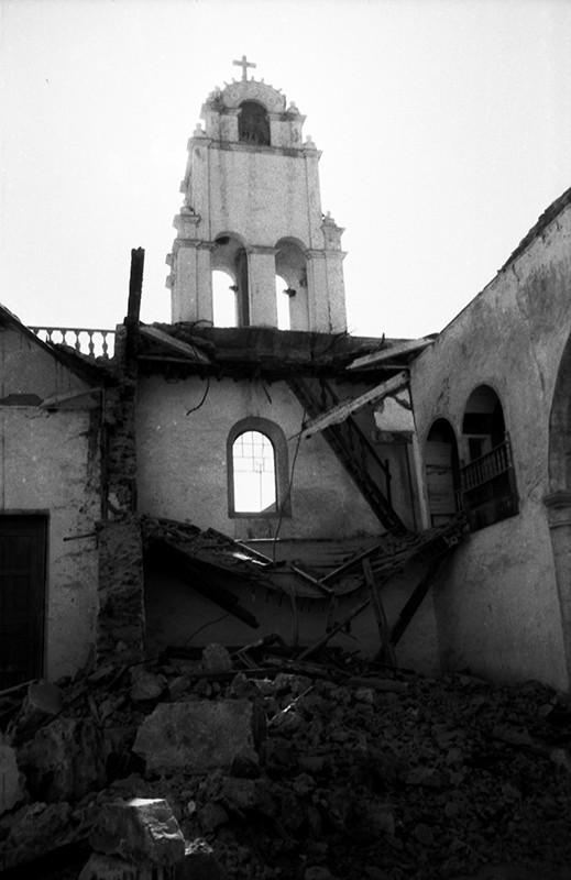 Derribo de la antigua iglesia de Haría XVII