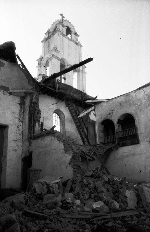 Derribo de la antigua iglesia de Haría XVIII