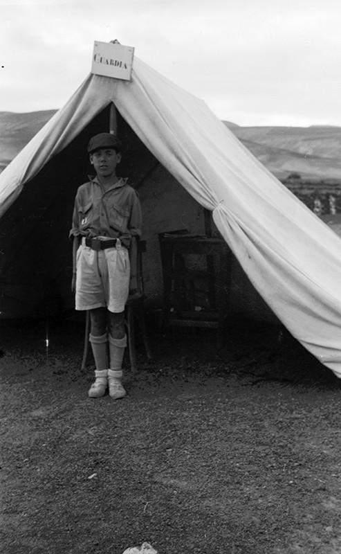 Campamento de la OJE en Arrieta III