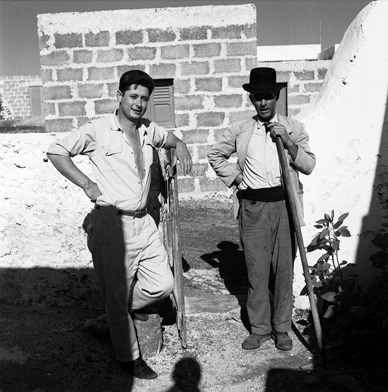 Jaime Borges y amigo en Máguez