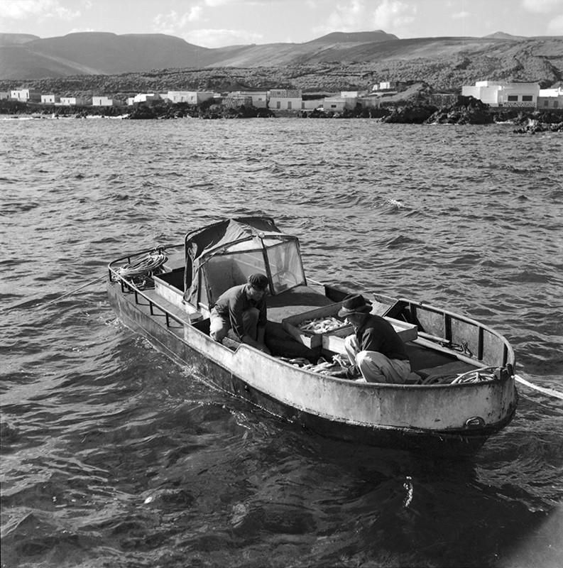 Pescadores en Punta Mujeres