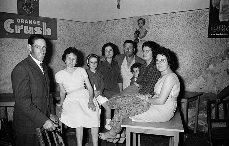 Familia en Máguez