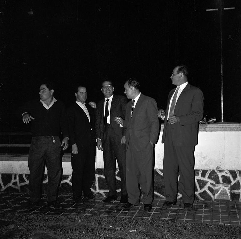 Grupo de amigos en Arrecife