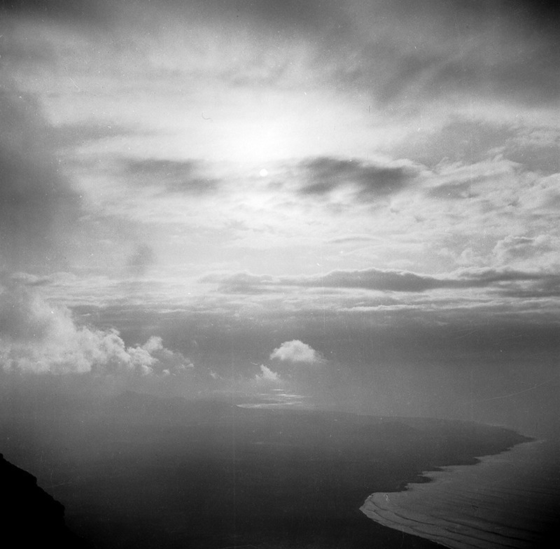 Vista de la costa de Famara