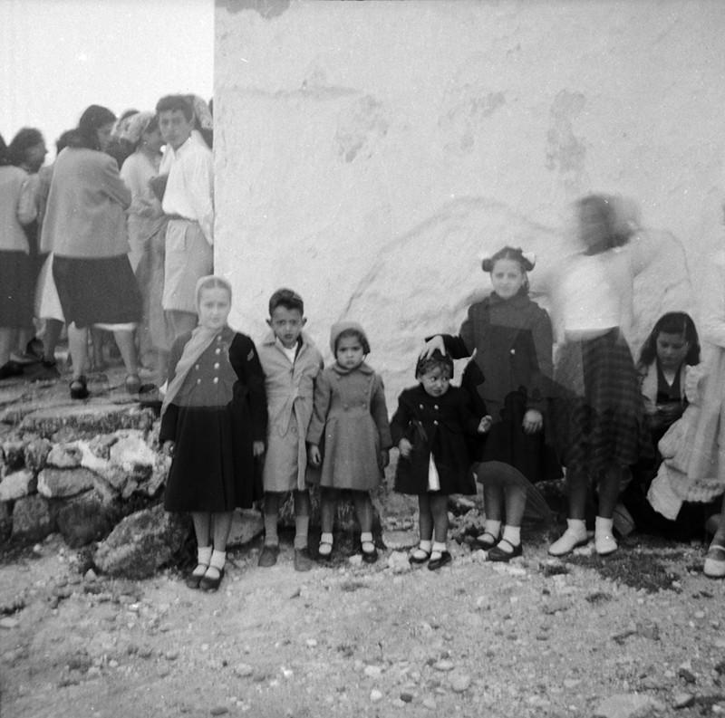 Familia de Antonio López en Haría