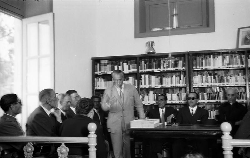 Inauguración de la Biblioteca Municipal I